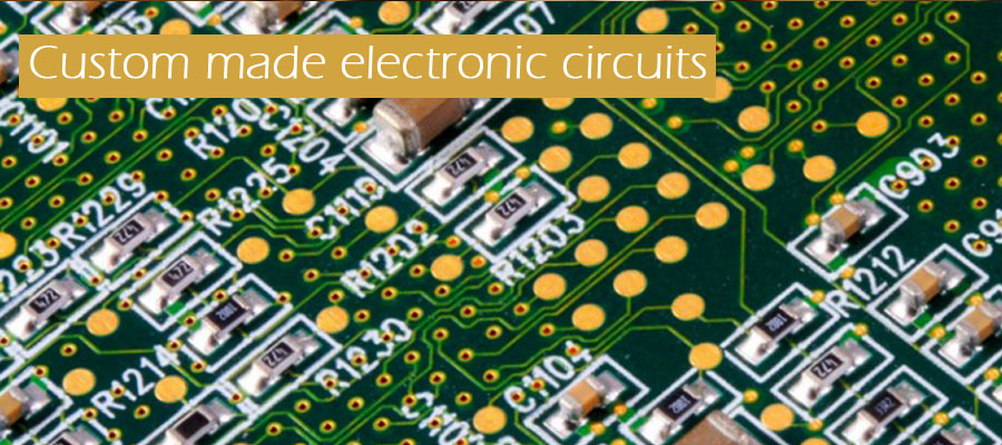 Custom made electronic circuits